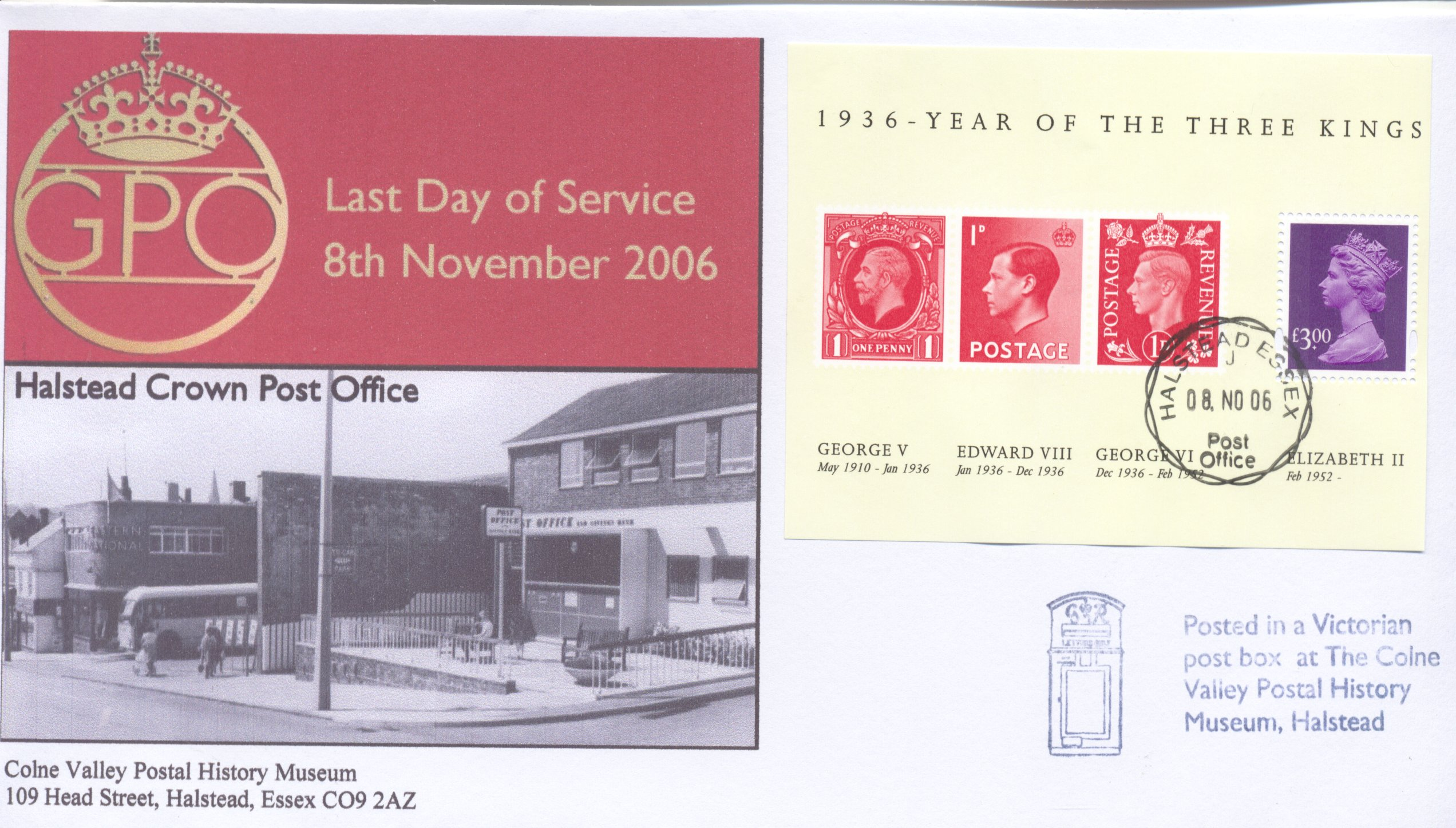Last Day Cover